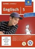 Alfons Lernwelt Lernsoftware Englisch 5. CD-ROM für Windows 7; Vista; XP -