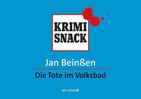 Die Tote im Volksbad (eBook) - Jan Beinßen
