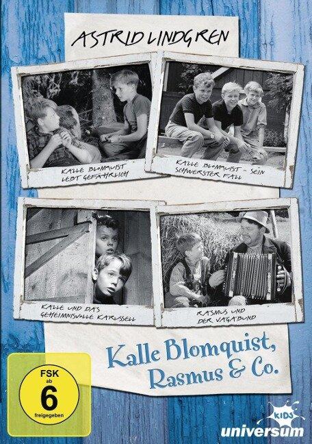 Kalle Blomquist & Rasmus (original schwarz-weiß Filme) - Astrid Lindgren