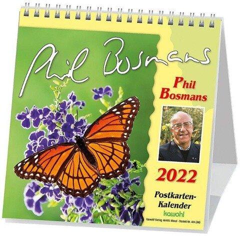 Phil Bosmans Postkartenkalender 2022 -