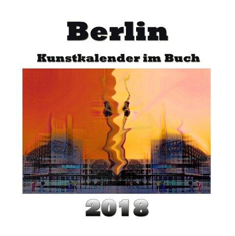 Kunstkalender im Buch - Berlin 2018 - Pierre Sens
