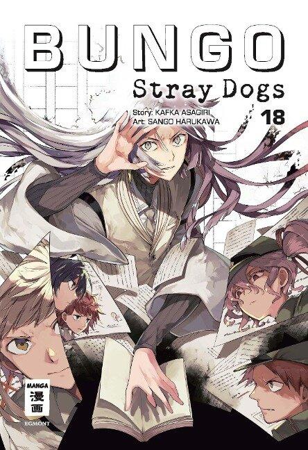 Bungo Stray Dogs 18 - Kafka Asagiri, Sango Harukawa