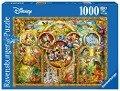 Die schönsten Disney Themen. Puzzle 1000 Teile -