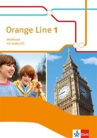 Orange Line 1. Workbook mit Audio-CD. Ausgabe 2014 -