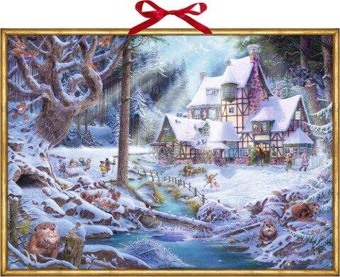 Wandkalender - Weihnachten auf dem Mühlenhof -