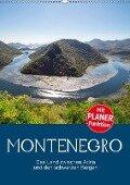 Montenegro - das Land zwischen Adria und den schwarzen Bergen (Wandkalender 2019 DIN A2 hoch) - Ralf Schmidt