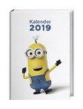 Minions 17-Monatskalenderbuch 2019 -