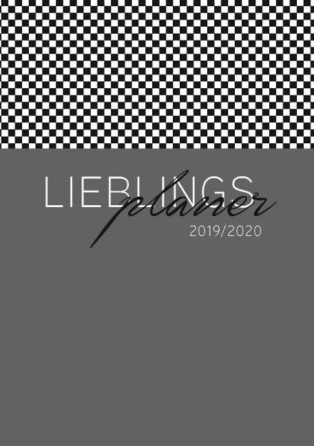 Lehrerkalender 2019/2020 - im Format DIN A5 in anthrazit -