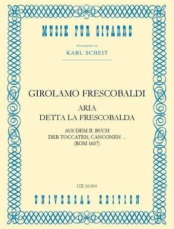 Aria detta la Frescobalda - Girolamo Frescobaldi