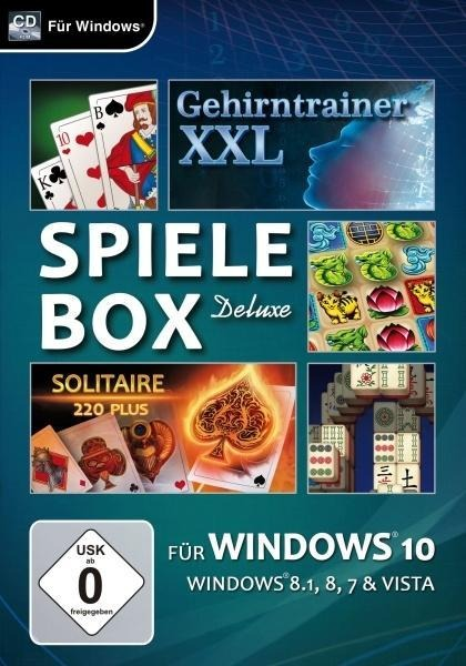 Spielebox Deluxe für Windows 10. Für Windows Vista/7/8/8.1/10 -