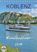 Koblenz Familienplaner (Tischkalender 2017 DIN A5 hoch) - Jutta Heußlein
