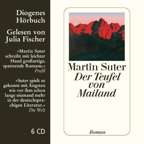 Der Teufel von Mailand. 6 CDs - Martin Suter
