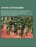 Antike Astronomie -