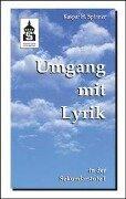 Umgang mit Lyrik in der Sekundarstufe I - Kaspar H. Spinner