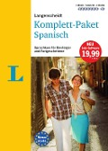 Langenscheidt Komplett-Paket Spanisch - Sprachkurs mit 2 Büchern, 7 Audio-CDs, 1 DVD-ROM, MP3-Download -
