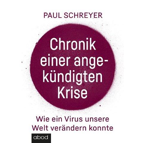 Chronik einer angekündigten Krise - Paul Schreyer