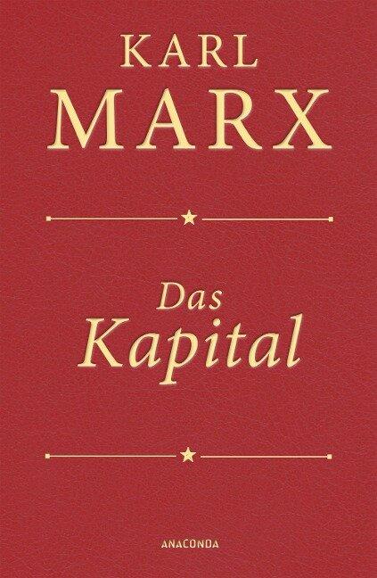 Das Kapital (Cabra-Lederausgabe) - Karl Marx