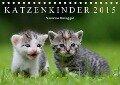 Katzenkinder 2018 (Tischkalender 2018 DIN A5 quer) - Susanne Danegger