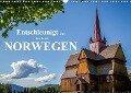 Entschleunigt ... reisen durch Norwegen (Wandkalender 2019 DIN A3 quer) - Dirk Sulima