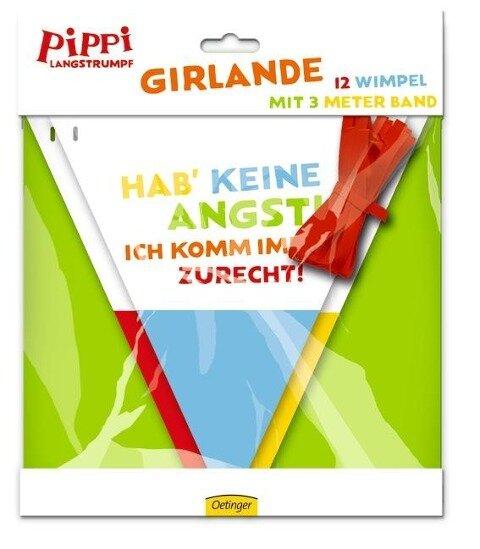 Pippi (Film) Girlande - Astrid Lindgren