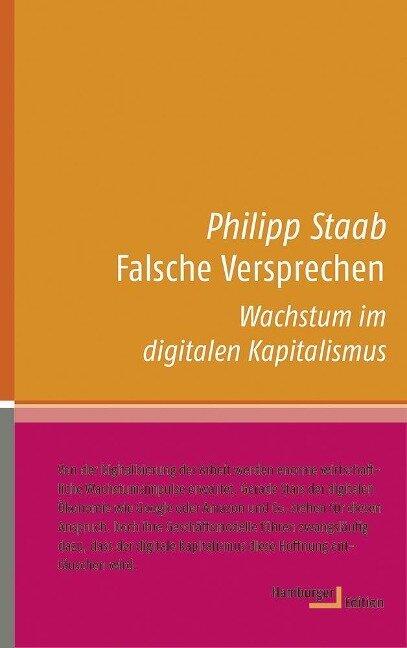 Falsche Versprechen - Philipp Staab