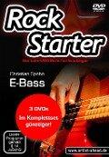 Rockstarter Vol. 1-3 - E-Bass (3 DVDs) - Christian Spohn