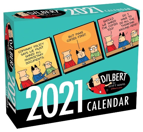 Dilbert 2021 Day-to-Day Calendar - Scott Adams