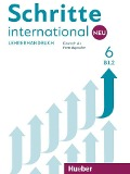 Schritte international Neu 6 / Lehrerhandbuch - Susanne Kalender, Petra Klimaszyk