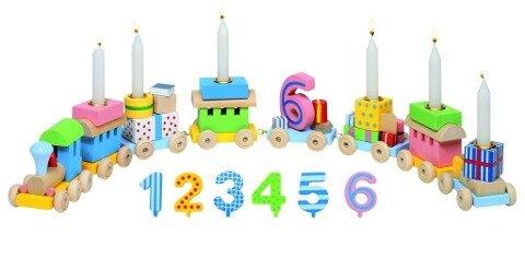 Geburtstagszug, Lok mit 7 Anhängern -