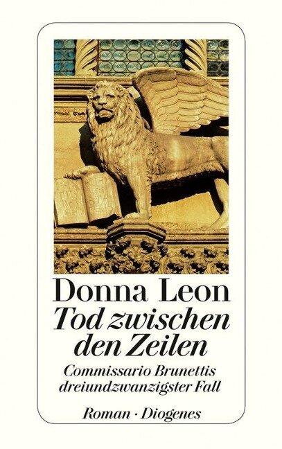 Tod zwischen den Zeilen - Donna Leon