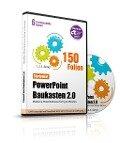 PowerPoint Baukasten 2.0 - STARTPAKET) - (150 POWERPOINT 3D VORLAGEN) - Präsentationen fertig in Minuten - Samuel Cremer
