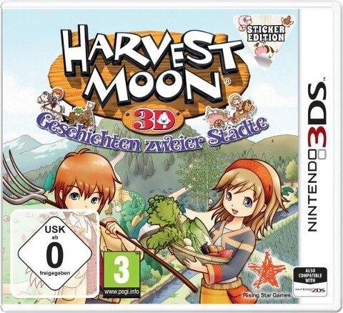 Harvest Moon 3D: Geschichten zweier Städte - Sticker Edition (Nintendo 3DS) -