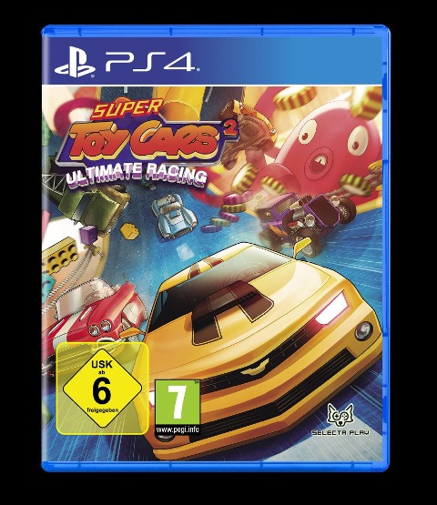 Super Toy Cars 2 Ultimate Racing (PlayStation PS4) -
