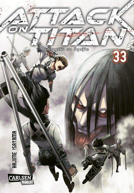 Attack on Titan 33 - Hajime Isayama