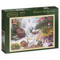 Falcon - Winter Hedgerow - Puzzle 500 Teile -
