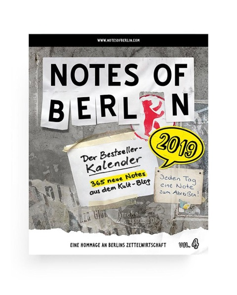 Notes of Berlin 2019 -