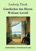Geschichte des Herrn William Lovell - Ludwig Tieck