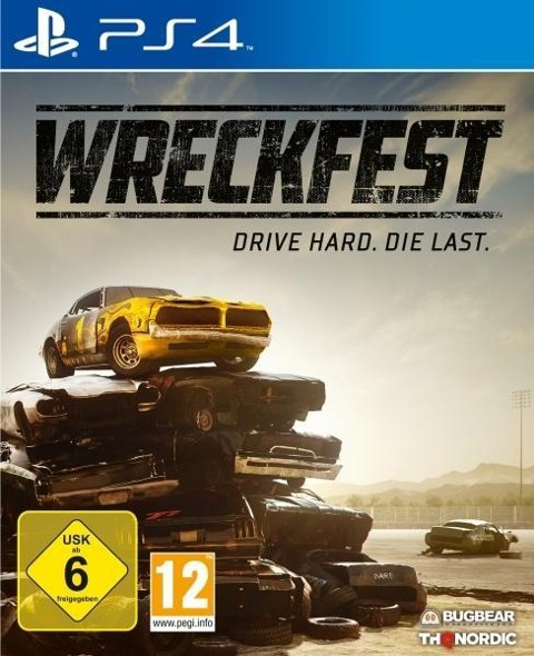 Wreckfest (PlayStation PS4) -