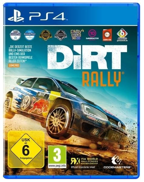 DiRT Rally (PlayStation PS4) -