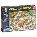 Jan van Haasteren - Wildwasserrafting - Puzzle 3000 Teile -