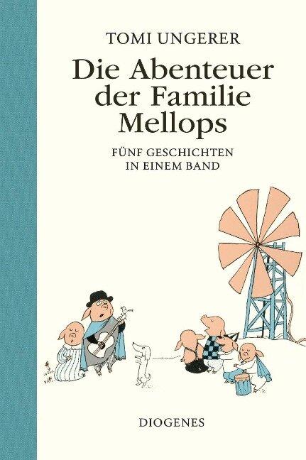 Die Abenteuer der Familie Mellops - Tomi Ungerer