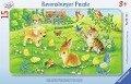 Kuschlige Tierkinder Puzzle 15 Teile -