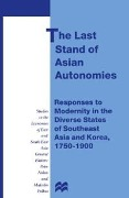 Last Stand of Asian Autonomies -