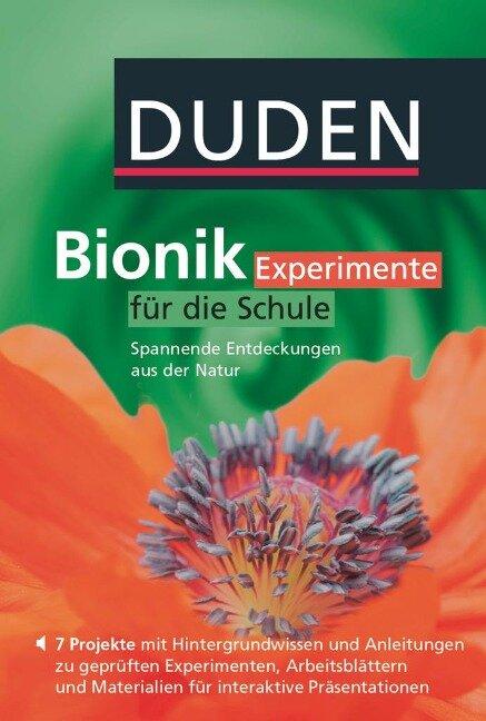 Bionik - Experimente für die Schule. DVD -