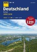 ADAC Reiseatlas Deutschland, Europa 2018/2019 1:200 000 -