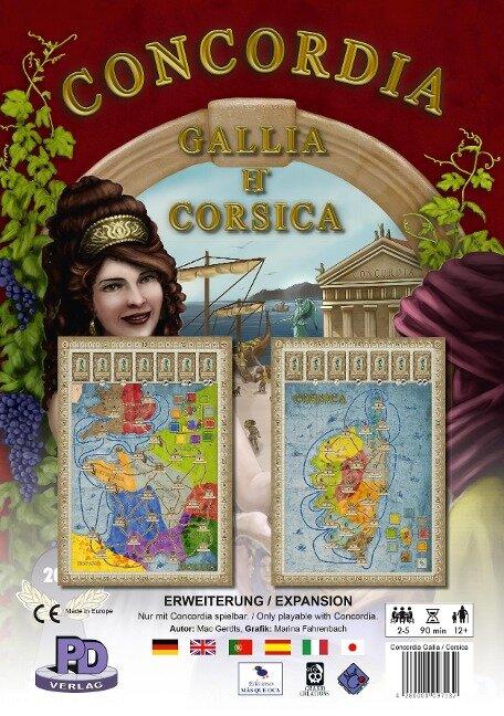 Gallia & Corsica - Erweiterung zu Concordia - Mac Gerdts