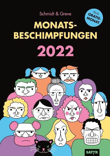 Monatsbeschimpfungen 2022 - Sarah Schmidt