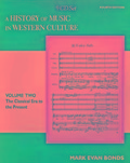 CD Set Volume II for A History of Music in Western Culture - Evan Bonds