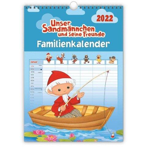 Unser Sandmännchen Familienkalender 2022 -