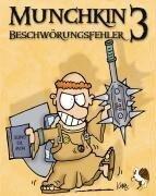 Munchkin 3 - Beschwörungsfehler / Kartenspiel - Steve Jackson